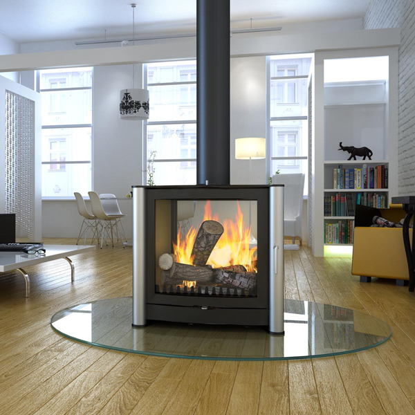 Attractive Firebelly FB3 Double Sided Stove | Flames.co.uk GN78